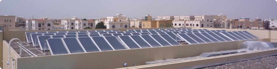 Solare termico esempi di applicazione - Grandi impianti lavatrici ...